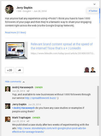 5 Google+ Tips to Improve Your Networking | Social Media Examiner | Content marketing | Scoop.it