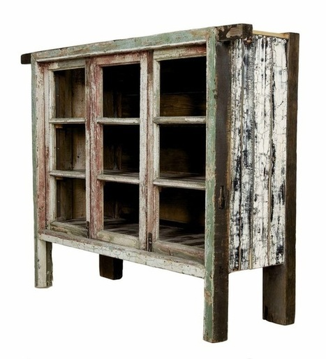 Build a sideboard from old windows | Upcycled Garden Style | Scoop.it