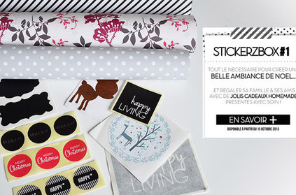 Stickerzbox : la nouvelle box créative | décoration & déco | Scoop.it