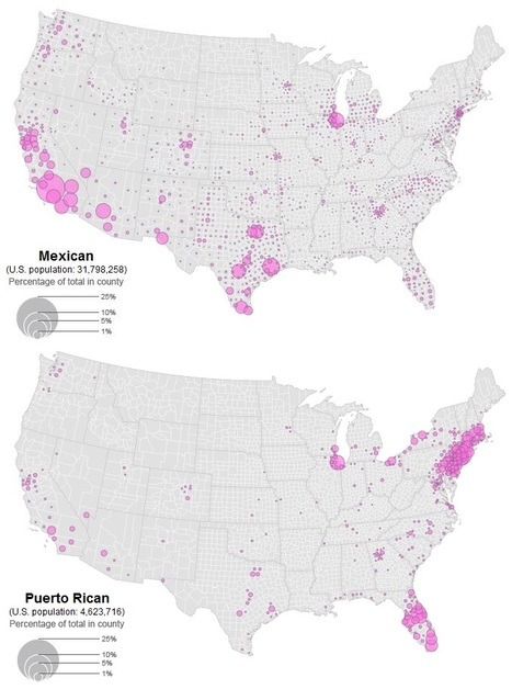 Hispanic Population in the USA | AP HUMAN GEOGRAPHY DIGITAL  TEXTBOOK: MIKE BUSARELLO | Scoop.it