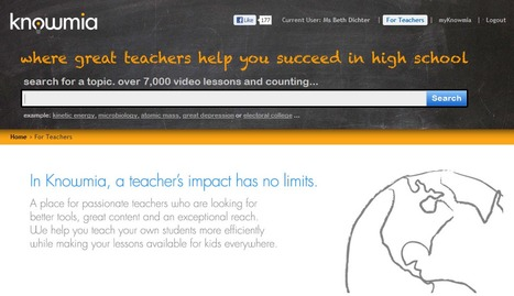 Knowmia - Thousands of Video Lessons on Every Subject   Cibereducação   Scoop.it