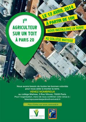 L'AGRICULTURE urbaine, c'est parti ! | Veni Verdi | actions de concertation citoyenne | Scoop.it
