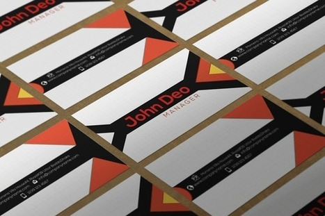 Contrasting Free Business card Template Psd Download | Byron Bay photography | Scoop.it