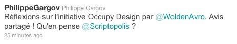 Réflexion sur Occupy Design. Alain Brégy. | Civic design | Scoop.it