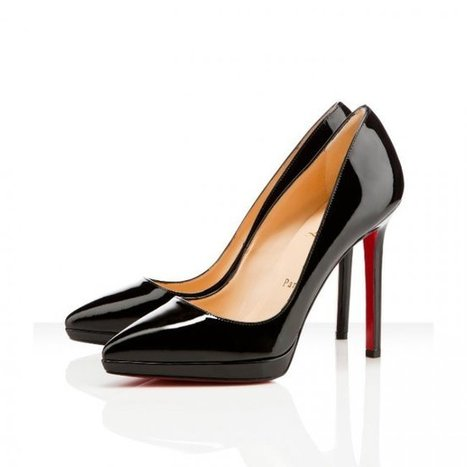 Christian Louboutin Pigalle Plato 120mm Black Pumps [Pigalle Plato 120mm] - $119.90 : Christian Louboutin,Christian Louboutin Shoes   Women's Pumps   Scoop.it