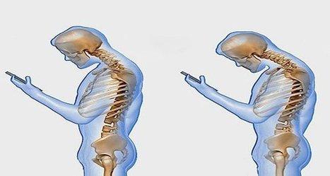 Ce que fait le téléphone portable sur votre colonne vertébrale   D-tente   Scoop.it