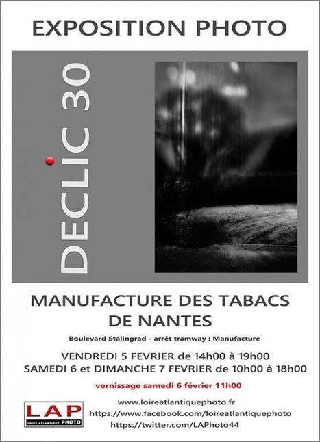 Exposition DECLIC 30 à la Manufacture des tabacs - Loire Atlantique Photo | L'actualité de l'argentique | Scoop.it