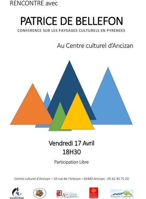 Conférence sur les paysages culturels à Ancizan le 17 avril   Vallée d'Aure - Pyrénées   Scoop.it