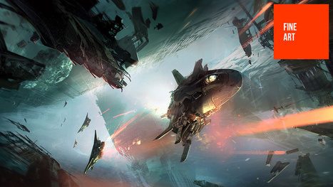 Halo 4 Was Shaped, At Least In Part, By One Of The World's Great Concept Artists | Concept art, Painting & Illustration | Scoop.it