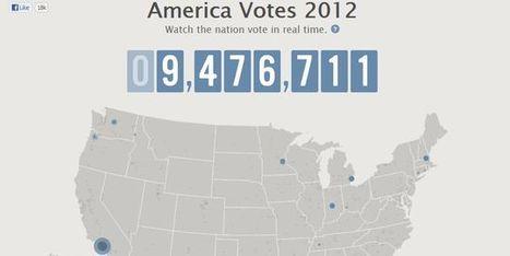 La victoire d'Obama, événement politique le plus 'twitté' de l'histoire   Réseaux Sociaux : Twitter, Facebook, Google+, Pinterest   Scoop.it