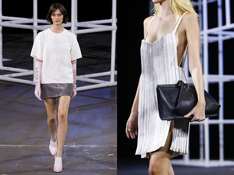 Alexander Wang Spring/Summer 2014: Can you Spell WANG? - The LA Fashion magazine | Best of the Los Angeles Fashion | Scoop.it