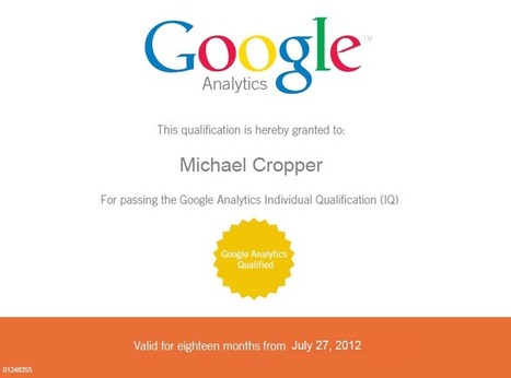 Taking the Google Analytics Individual Qualification Exam | Digital Marketing with measurable results | Scoop.it