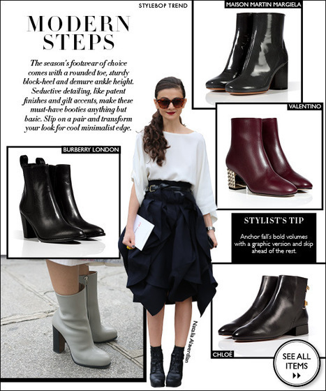 Modern Steps: Booties That Fit A Global Street Style Trend | Best of the Los Angeles Fashion | Scoop.it