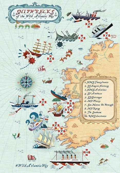 10 Historic Shipwrecks | Wild Atlantic Way | ScubaObsessed | Scoop.it
