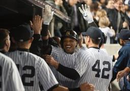Yankees honor Boston Marathon bombing victims and Jackie Robinson; Robinson Cano hits three-run homer in win over Diamondbacks | Sports Facility Management.4419989 | Scoop.it