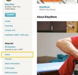 Etsy | דרישות דף מוצר | זירות מסחר אלקטרוני | Scoop.it