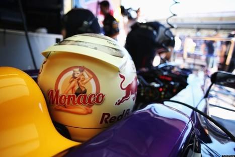 Sebastian Vettel's Monaco Helmet Reveals A Naked Pin-Up As It Heats Up ... - Huffington Post UK   Pin Up   Scoop.it