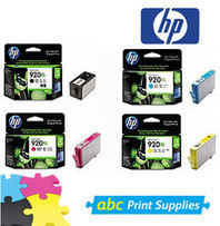 HP 920XL Genuine B,C,M,Y Pack Inkjet Cartridges | Synergy Signs | Scoop.it