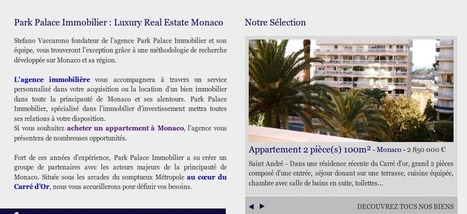 Page d'accueil immobilier | Création site immobilier | Webmarketing Immobilier Imminence | Scoop.it