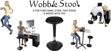 Active Sitting Chair   Adjustable Ergonomic Stand Up Desk   Scoop.it