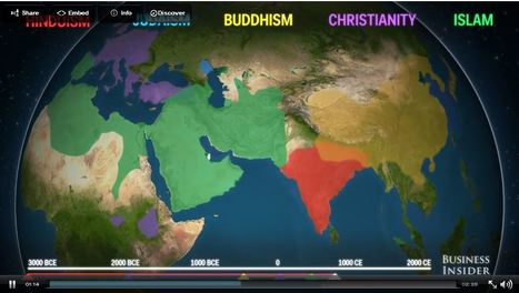 How religion(s) spread across the world | Human Geography | Scoop.it
