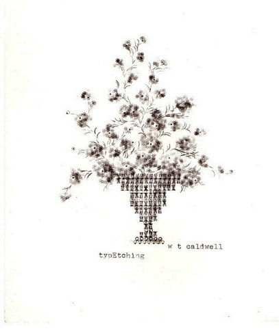 Typewriter art by Winifred T. Caldwell | ASCII Art | Scoop.it