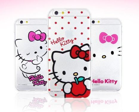 Hello Kitty Charming Clear Hard Phone Case | Best Smartphone Cases | Scoop.it