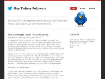 Four Advantages to Buy Twitter Followers | How to buy Twitter Followers Cheap | Scoop.it