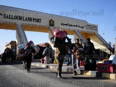 Egyptians protest at Libyan border over new visa rules | Égypt-actus | Scoop.it
