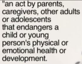 Definition of child abuse | Stacey-12CS | Scoop.it