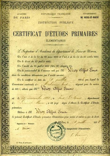 Le Certificat d'Etudes Primaires des années 50 | Nos Racines | Scoop.it