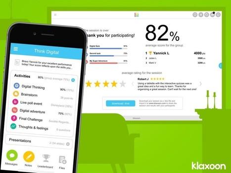 Coup de Klaxoon sur la Edtech qui monte... rencontre avec son créateur | Management21 et intelligence collective | Scoop.it