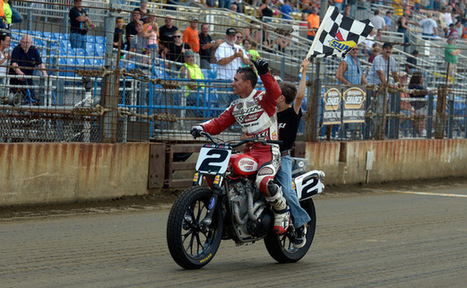Racing Roots: For The King of Cool, Kenny Coolbeth, racing flat track is all ... - AMA Pro Racing | California Flat Track Association (CFTA) | Scoop.it