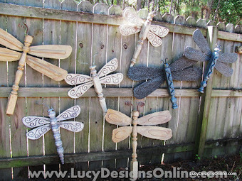 Dragonflies were once fence posts and fan blades | Creative Ideas | Scoop.it