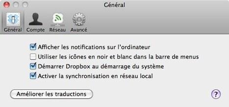 Dropbox : petite révision et incompatibilité avec Lion | Toute l'actualité du Mac | Scoop.it