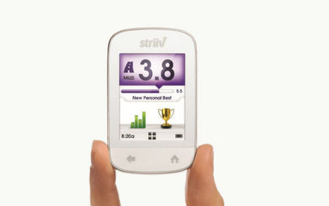 The new STRIIV Smart Pedometer Takes Fitness to Social Level | UX-UI-Wearable-Tech for Enhanced Human | Scoop.it