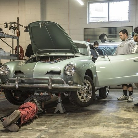 Cool. Electrified, student-built Karmann Ghia runs on tweets (Wired UK) | Tracking Transmedia | Scoop.it