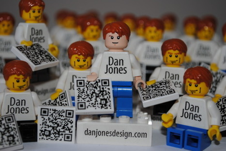 Creative Lego QR Code Business Card | QRiousCODE | Scoop.it