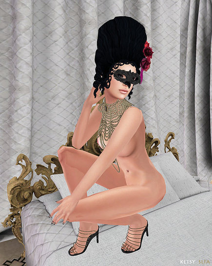 Second Life Fashion Addict: Genre - Baroque Down Palace | SL Fashion Addicts Anonymous | Scoop.it
