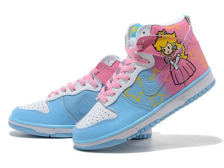 Les dunk Nike version Princesse Peach | Roi Boo News | Scoop.it
