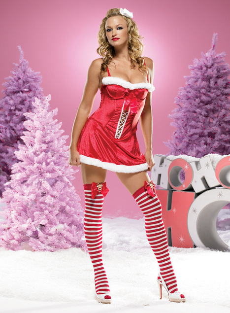 Temptation Santa Dress –SexyLingeriesDeal.com | Christmas Costumes | Scoop.it