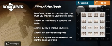 Book to Film Quiz | Box Clever | QuizFortune | Quiz Related Biz - Social Quizzing and Gaming | Scoop.it