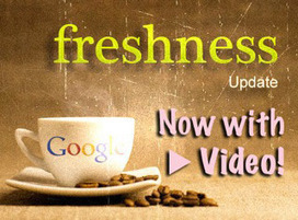 """Google's """"Fresh"""" Video SEO Tips for Website ProductPages 