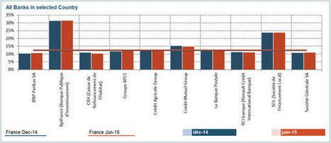 Les banques françaises, mauvaises élèves de l'Europe en matière ... - JDN | Risk management | Scoop.it