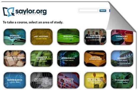 Saylor.org, más de 200 cursos online gratuitos de nivel universitario | Educación y TIC | Scoop.it