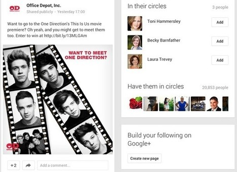 Do the top 20 US retailers care about Google+? | Digital Marketing | Scoop.it