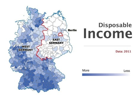 The Berlin Wall fell 25 years ago, but Germany is still divided | Milton High School Human Geography | Scoop.it