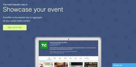 Eventifier. Outil de curation pour vos événementiels. | Learning 2.0 ! | Scoop.it