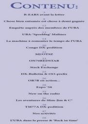 UBA : ECQ-QSO Mois d'Août 2013! | radioamateurs  news | Scoop.it