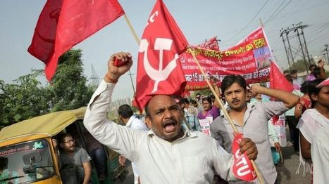 Indian workers strike over Modi labour reforms   Asian Labour Update   Scoop.it